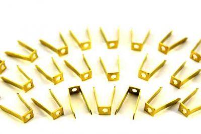 - 6x15 mm AYAK MODELİ HAM PRİNÇ, #532-2.3 mm-DELİKLİ