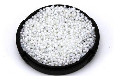 ERTÜRK - KÜÇÜK BOY KUM BONCUĞU, 1.5 mm, PARLAK ŞEFFAF BEYAZ RENK - KOD: KB-K60